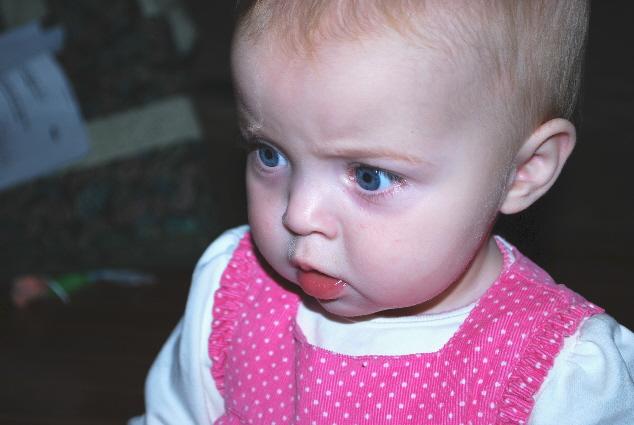 My serious face!