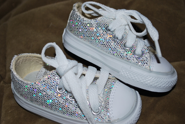 """WANTED: """"person"""" in possession of sparkly tennis shoes!"""