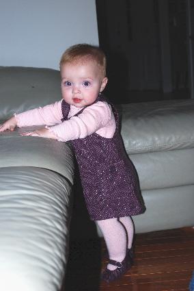 Look what a big girl I am.... so cute, so big...so sweet!