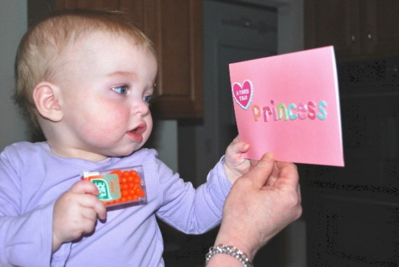 Nana can you mail this to one of my mini princess friends....