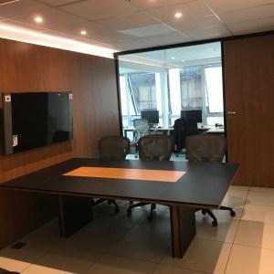projeto de sala de reunião