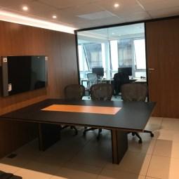 sala de reunião planejada