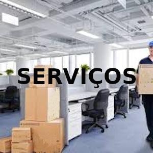 serviços de aluguel de moveis de escritório e outros
