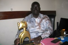 Sinkoun Kaba :  « Je remercie les organisateurs du Nimba d'Or pour mon Nimba spécial »