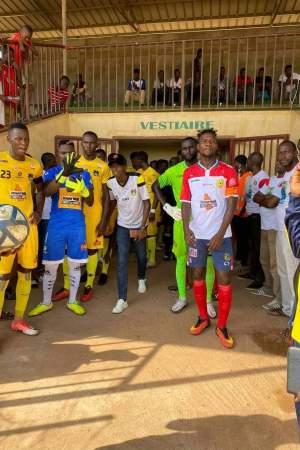 Le Santoba FC 10 contre 11 perd son match en déplacement face à l'Ashanty GB de Siguri ce marsi à Kankan