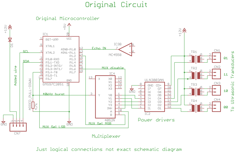 medium resolution of  i2c module to use the whole system as a slave sensor as a sonar range finder robotic module do serial module to send out the values for a simpler debug