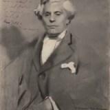 III. Photo du portrait de Paul Boncour, avec dédicace écrite à la main