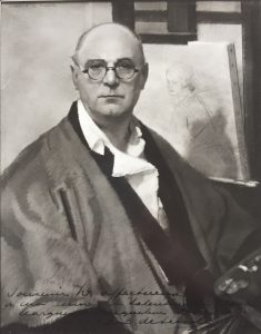 Guirand de Scévola, Autoportrait, 1932