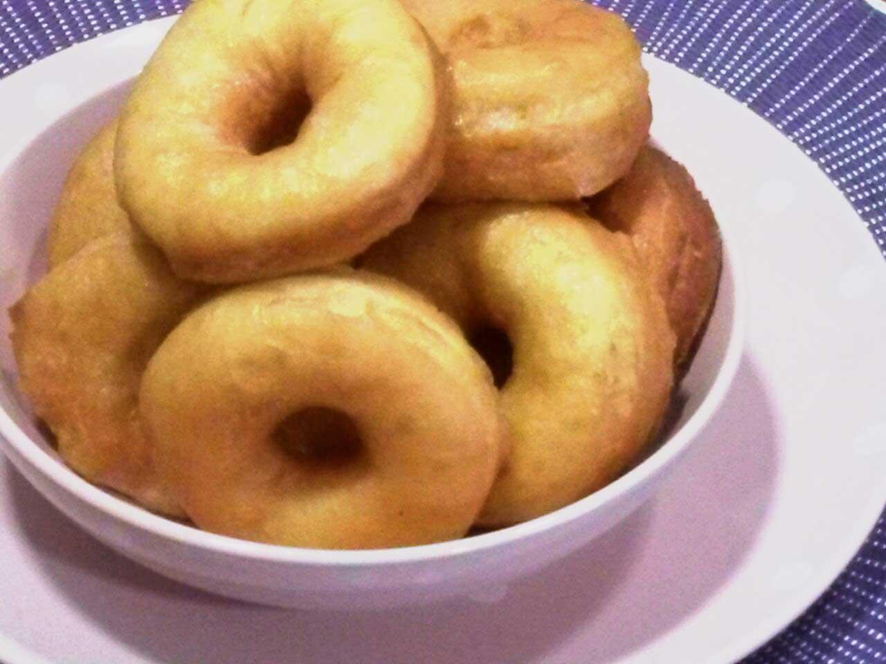 Donuts caseros con azúcar integral ecológico