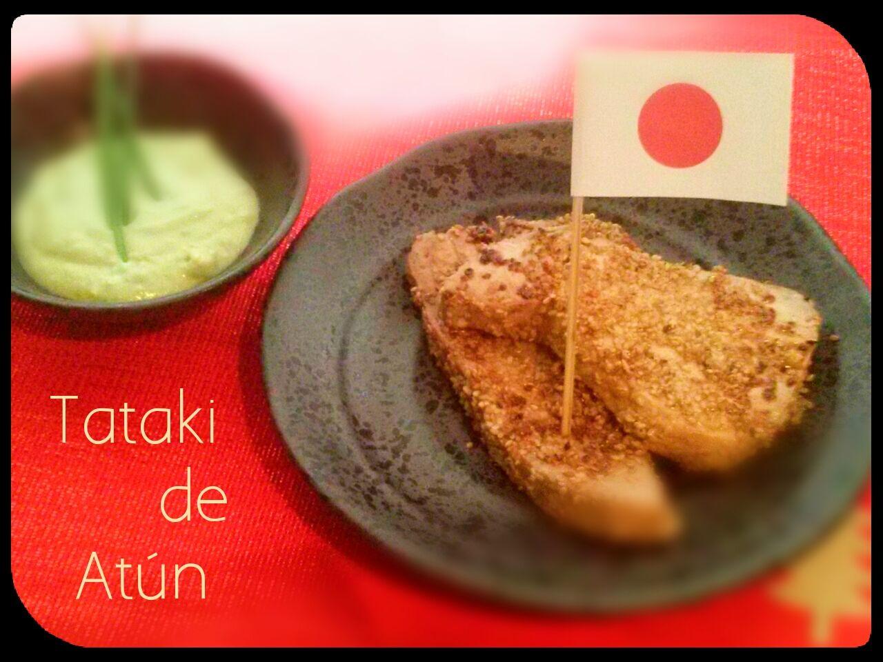 Tataki de atún rojo con salsa de aguacate, Japón. (Cena de Navidad Wordlwide)