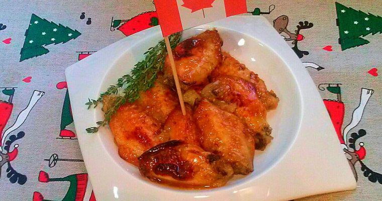 Recetas de Canadá: Alitas de pollo escarchadas. [Cena de Navidad Worldwide]