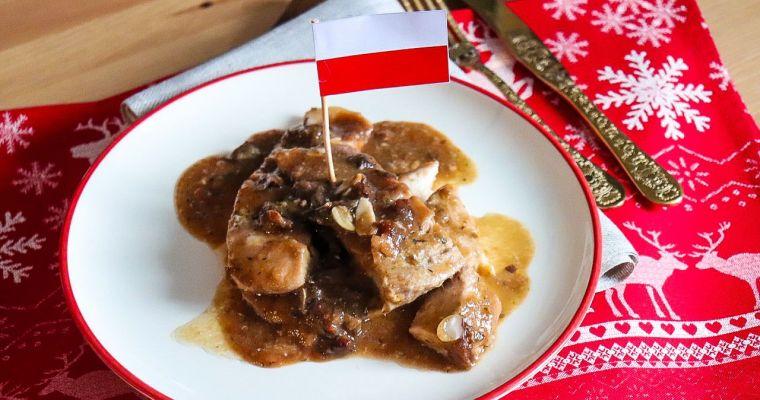 Carpa en salsa, Polonia. [Navidad Worldwide]