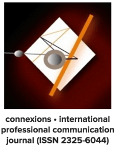 """The connexions journal logo; Published as part of """"CFP: DESIGNING PROFESSIONAL COMMUNICATION ACROSS CULTURES"""""""