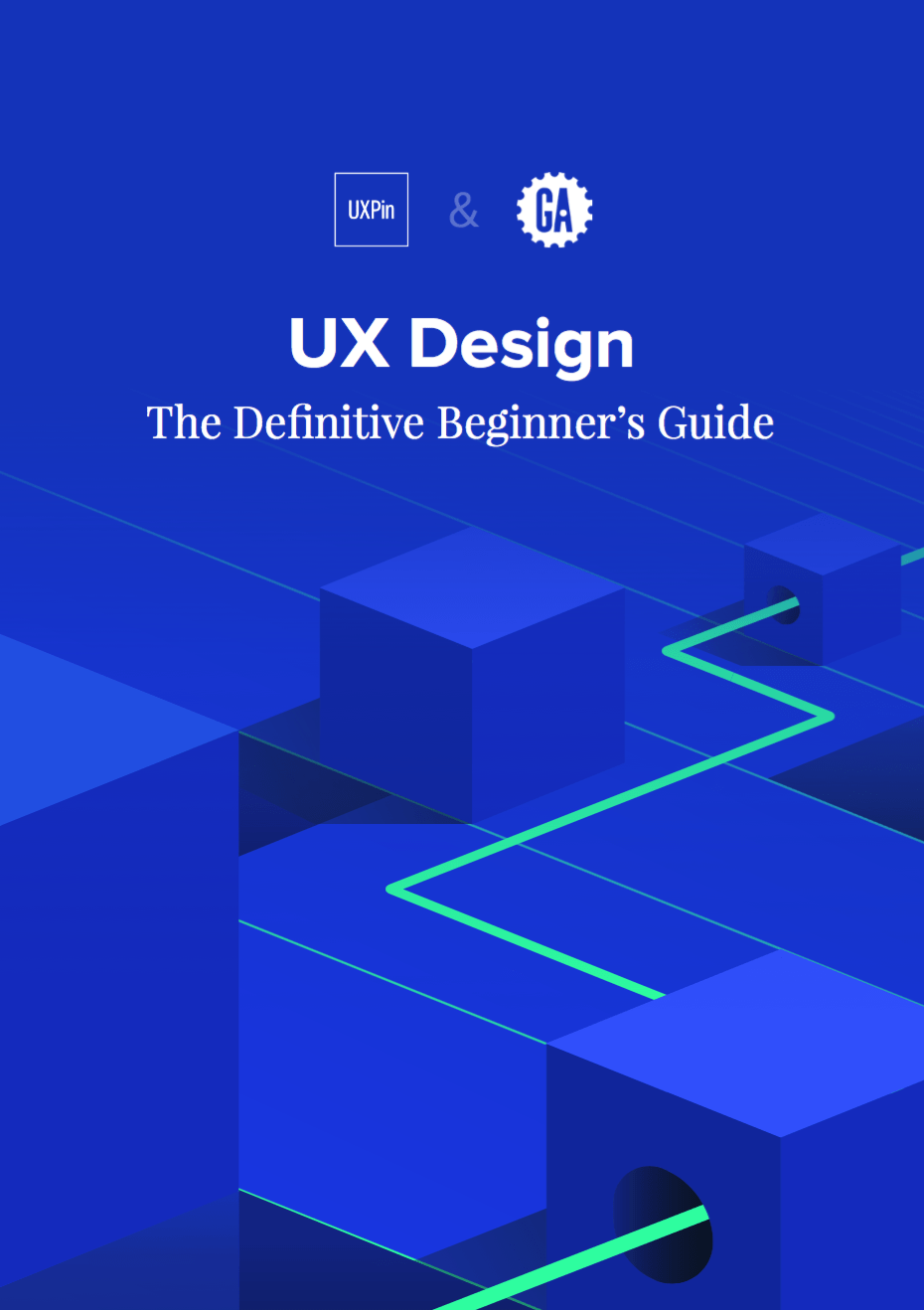 The cover of my ebook: UX Design: The Definitive Beginner's Guide
