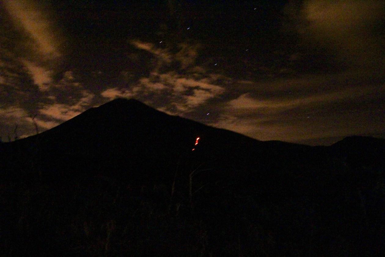Pacaya de Noche