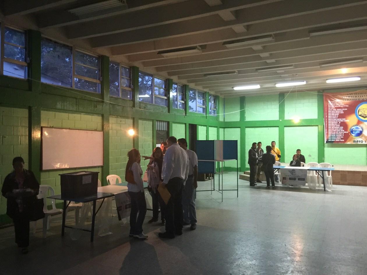 Mesa 1184, Elecciones Guatemala
