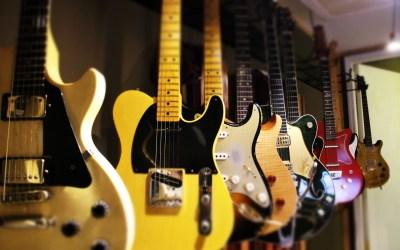 Les types de guitares