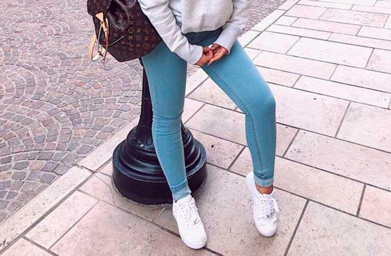 25 Produções práticas e estilosas com calça jeans e tênis - Guita Moda