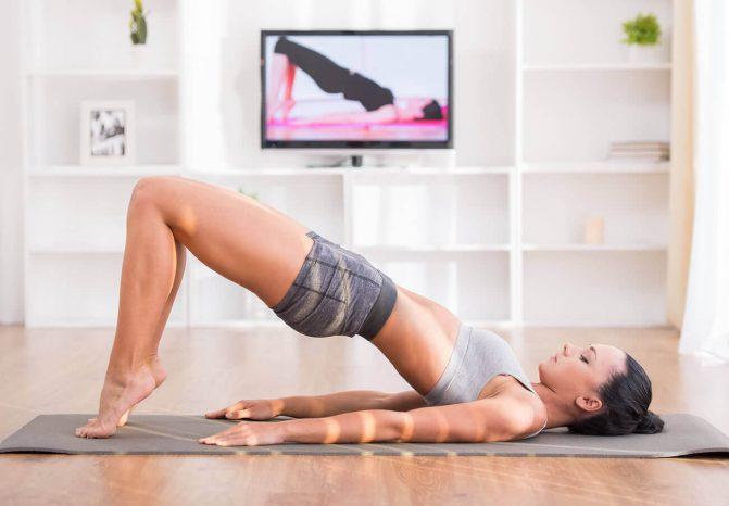 exercícios em casa na quarentena