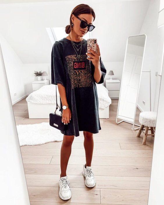 Jaqueline, t-shirt dress prea