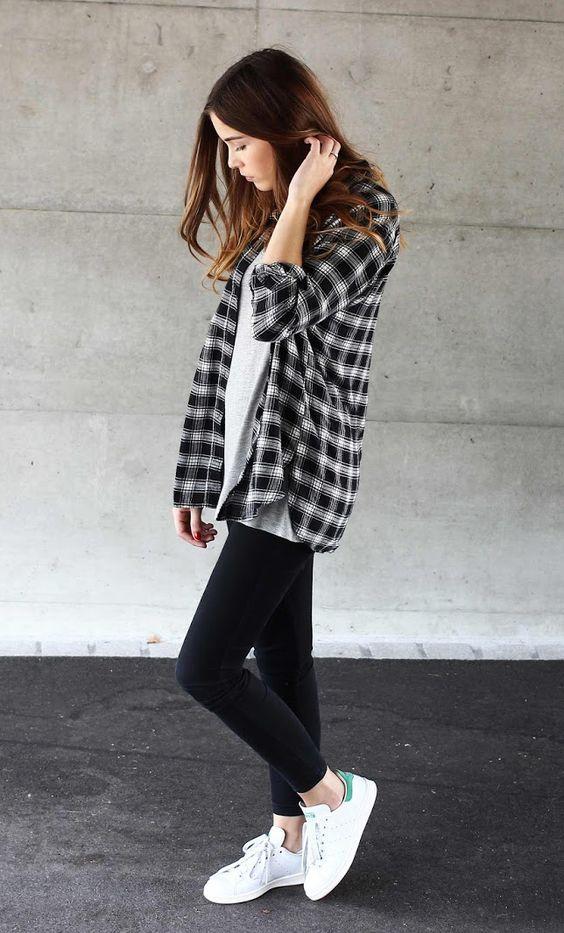 camisa aberta camisa xadrez preta e branca