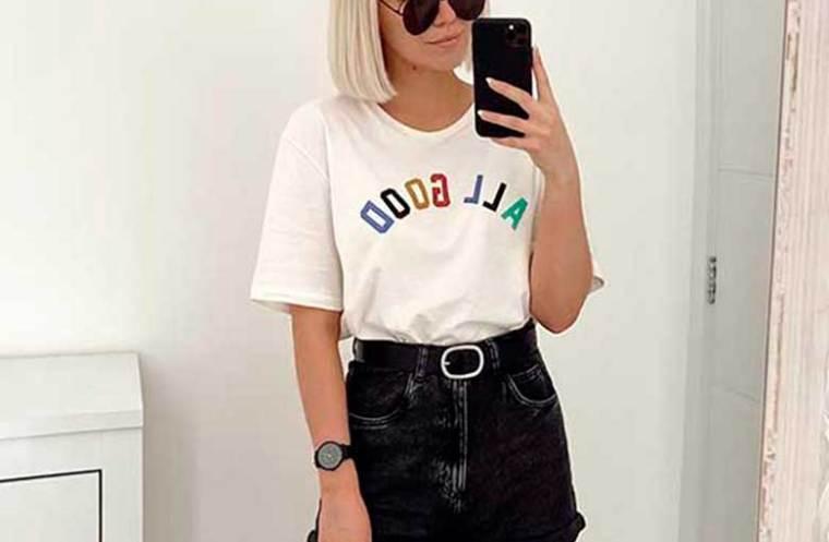 t-shirt e short