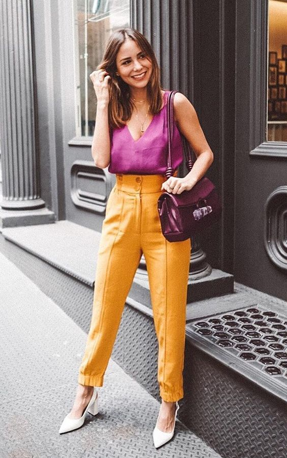 look color blocking