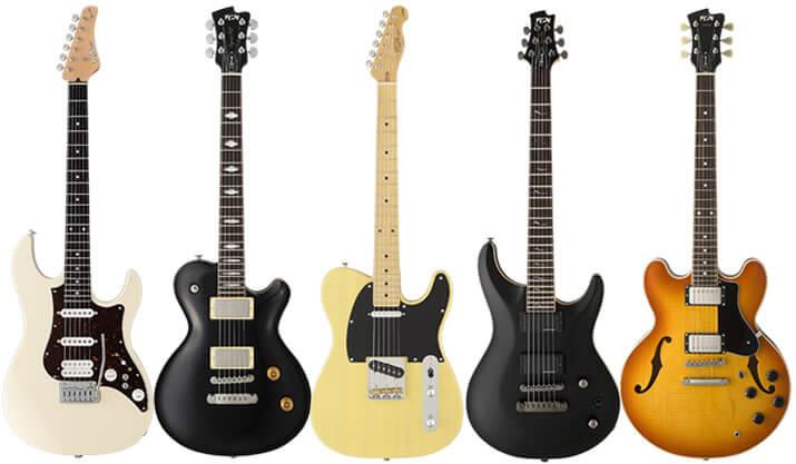 フジゲン(Fujigen)のエレキギターについて