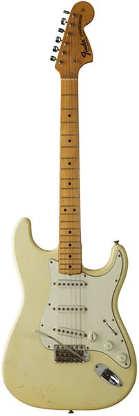 ジミ・ヘンドリックスの使用エレキギター