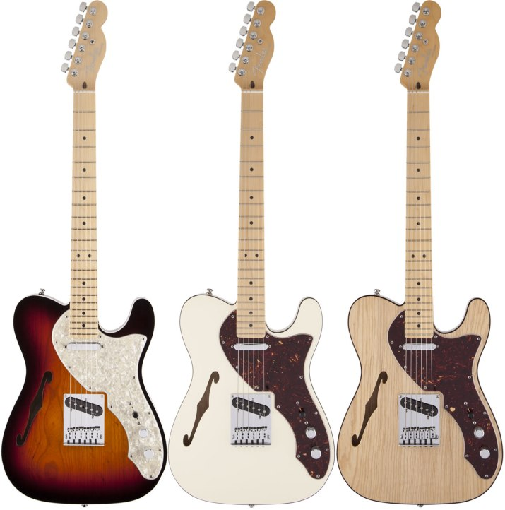 Fender USA AMERICAN DELUXE TELECASTER THINLINE