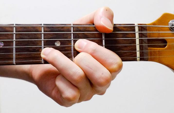 指の広げ方:D