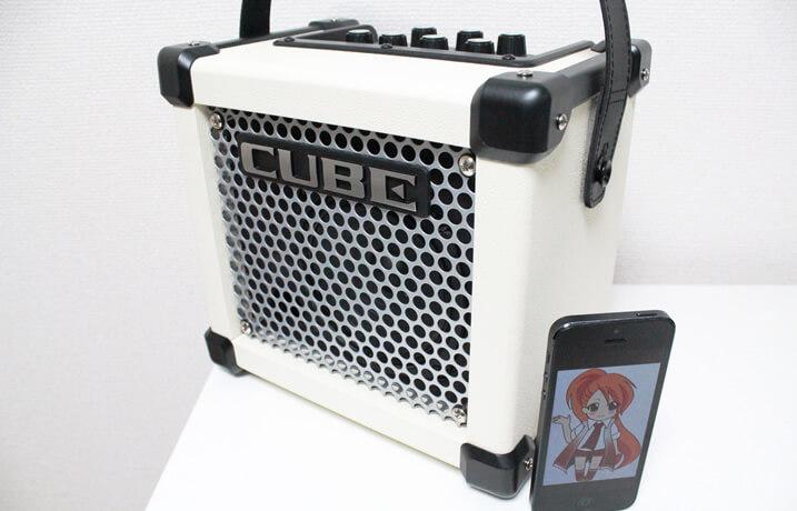 Roland MICRO CUBE GX:全体像