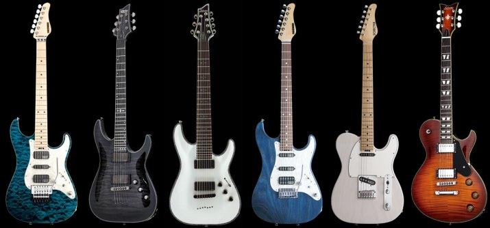 シェクター(Schecter)のエレキギター