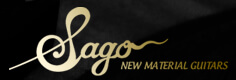 Sago New Material Guitarsロゴ