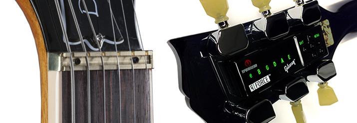 Gibson Les Paul Deluxe 2015のヘッド部分