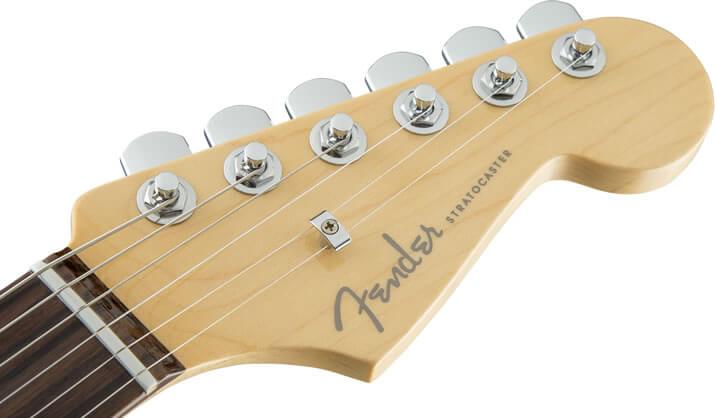 American Elite Stratocaster:ヘッド部分