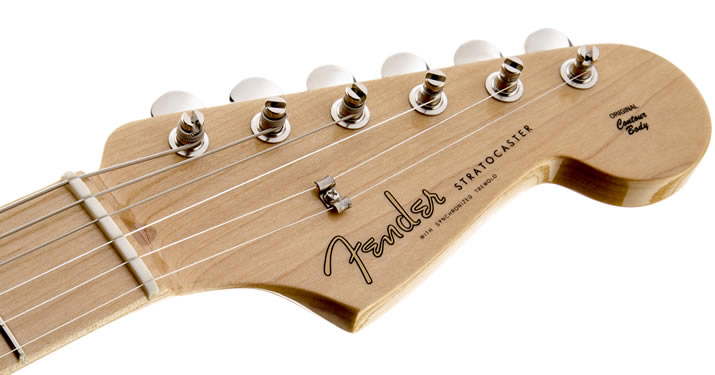 American Vintage 56 Stratocaster:ヘッド