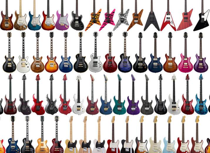 EDWARDSのギター