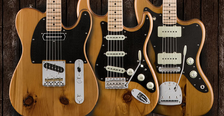 Fender EXOTIC WOOD COLLECTION
