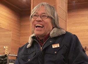 今福三郎:笑顔