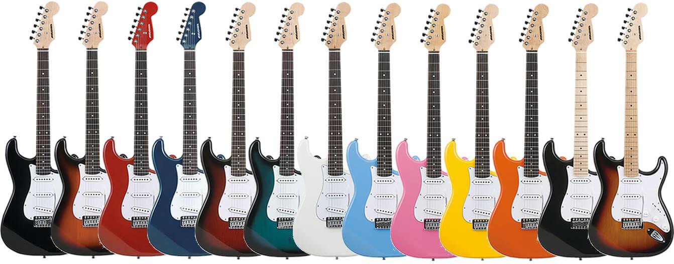 SELDER ST-16のギター