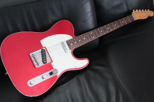Classic 60s Tele Custom(Candy Apple Red)
