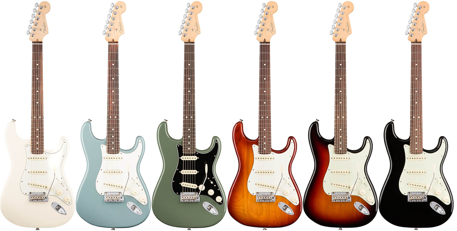 American Professional Stratocaster:カラーリング