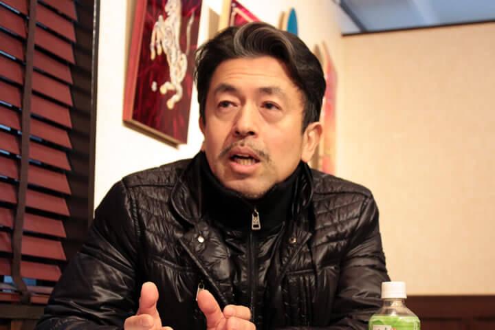 KAMINARI代表:橋本氏