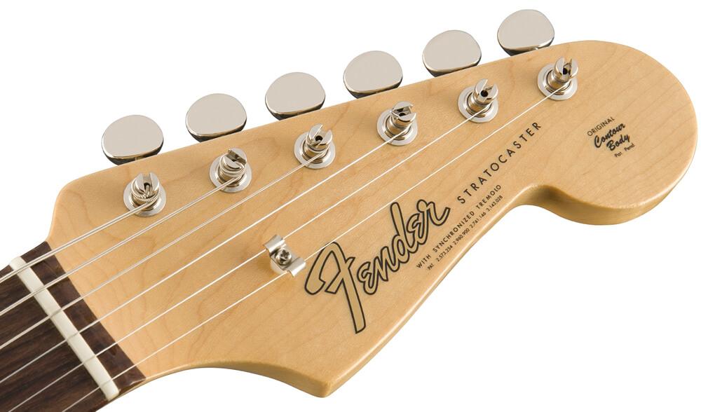 American Original 60s Stratocaster:ヘッド