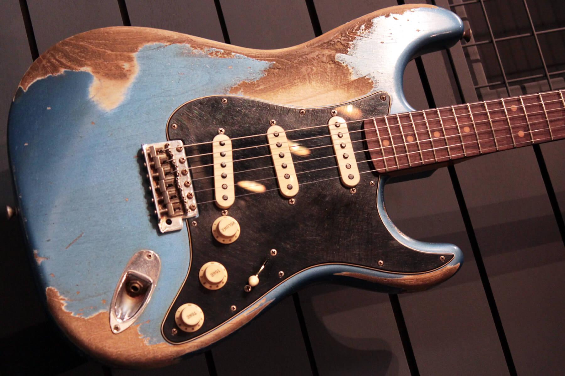 フェンダーカスタムショップ:60 Stratocaster Heavy Relic
