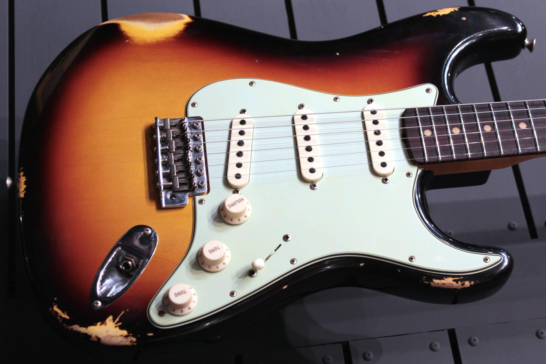フェンダーカスタムショップ:62 Stratocaster Relic