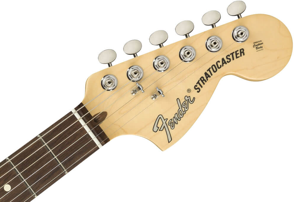 American Performer Stratocaster:ヘッド