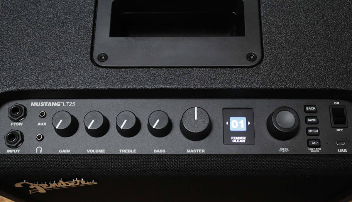 MUSTANG LT25:コントロール系統