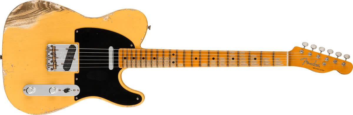 Fender Custom Shop BROADCASTER Heavy Relic